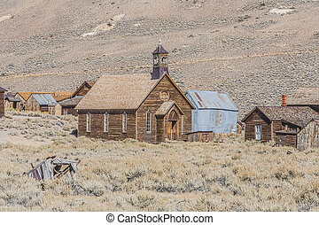 Ghost Town Church - Historic church in California ghost town...