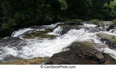 Huay Luang Waterfall in Ubonratchathani at Thailand