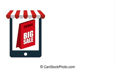 Big sale design, Video Animation HD1080