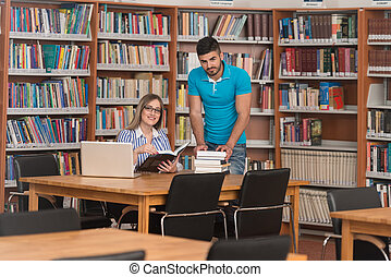 Handsome Male Student Asking For Studying Together - Young...