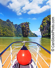 Fabulous boat trip - Fabulous holiday in Thailand Bay in the...
