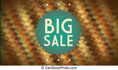 Big sale background, Video Animation HD1080