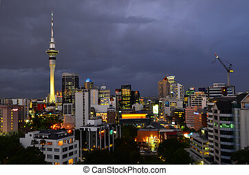 Auckland - New Zealand - AUCKLAND - NOV 07 2015:Auckland New...