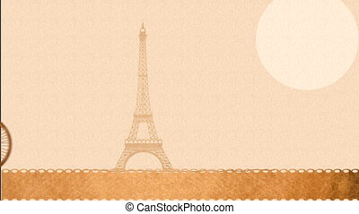 I love France Card, Video Animation HD1080
