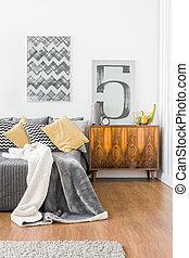 Stylish interior with sleeping area - Photo of stylish...