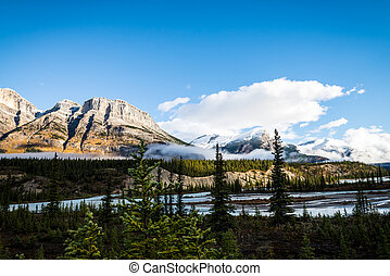 Mountain landscape in Canada