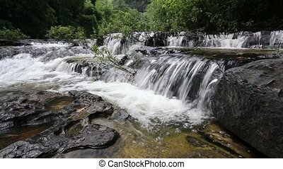 Huay Luang Waterfall in Ubonratchathani at Thailand
