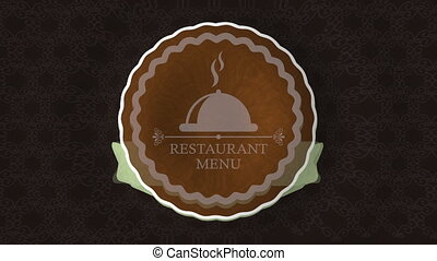 Menu seal design, Video Animation HD1080