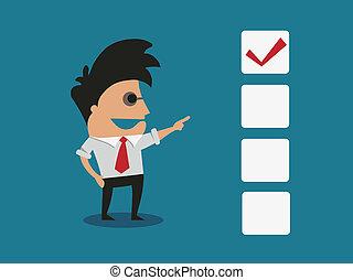 Checkbox concept