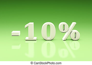 -10% Significant discounts for the goods and services....