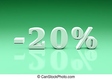 -20% Significant discounts for the goods and services....
