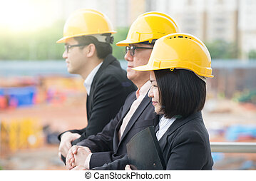 asian Construction personnel