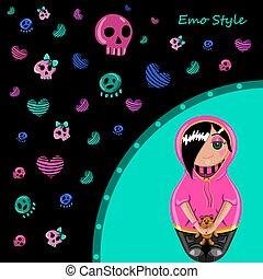 emo, estilo