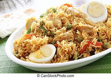 indian biryani curry