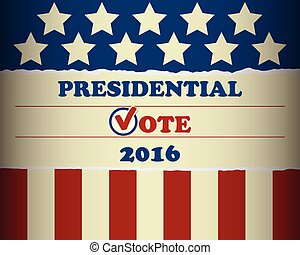 USA 2016 Presidential Vote