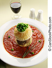 Beef Pie Floater