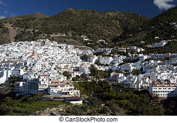 Competa - Andalucia in Spain: the pretty peublo blanco of...