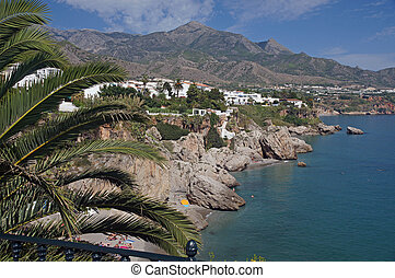 Playa de la Calahonda - Andalucia in Spain: the beach Playa...