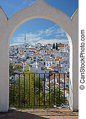 Comares - Andalucia in Spain: the pretty peublo blanco of...