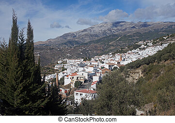 Competa and the Sierra de Tejadas - Andalucia in Spain: the...