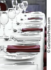 place settings - formal dinner place settings