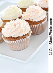 decorated cup cakes
