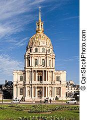 Invalides in Paris
