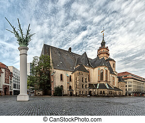 Church of St. Nicholas in Leipzig, Germany