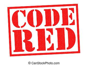 kodex, röd