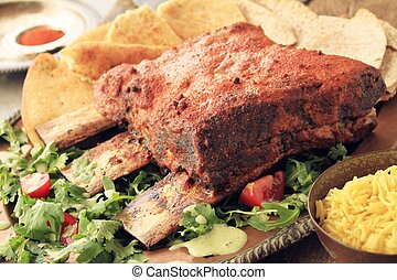 Indian beef rib - Indian style roast beef rib