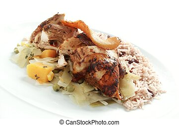 Afro caribbean stock photo images 1 012 afro caribbean for Afro caribbean cuisine