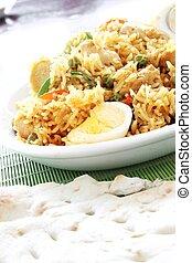 Indian Biryani rice - Indian biryani rice curry