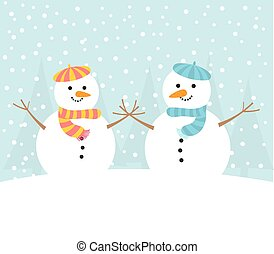 Homosexual Snowman Couple Card Royalty Free Stock Image - Image ...