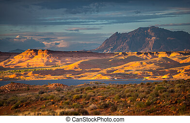 Henry Mountains, South Central Utah, United States - Glen...