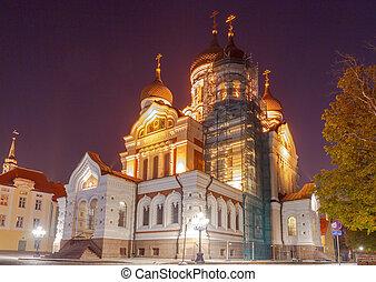 Tallinn Alexander Nevsky Church - Alexander Nevsky Cathedral...