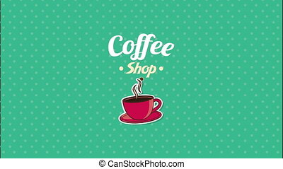 Coffee shop design, Video Animation HD1080