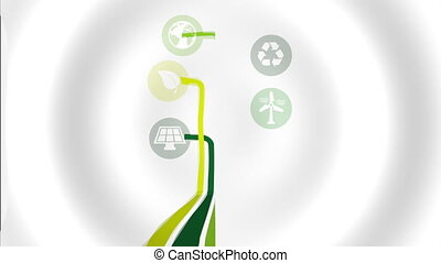 sustainable and renewable  design, Video Animation HD1080