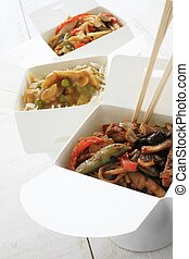 chinese takeaway - traditional chinese takeaway