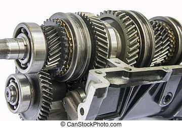 transmission shaft gear