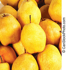 pear - yellow pears