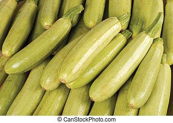pumpkin - zucchini