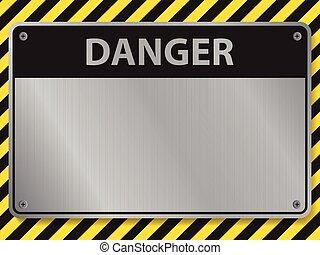 Danger sign, illustration vector