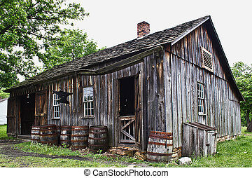 Blacksmith Shop - An old blacksmith shop in the Midwest