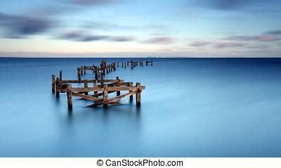 Still sea in the morning