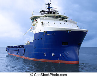 Supply Vessel B1 - Offshore oil and gas platform supply...