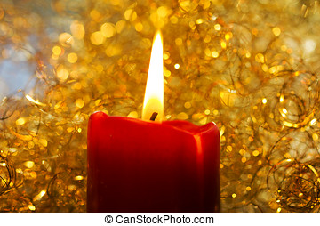 Candle X mas Light