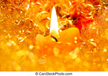 Candle Christmas Eve