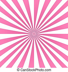 Happy pink ray stripes pattern background