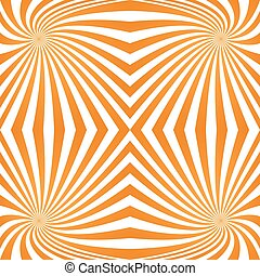Orange quadrant spiral pattern background - Orange computer...