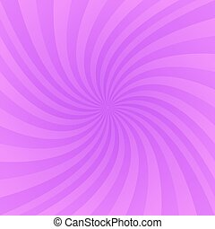 Purple twirling ray background